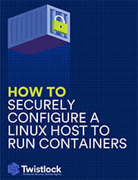 How to Securely Configure a Linux Host to Run Containers