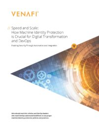 Speed and Scale: How Machine Identity Protection is Crucial for Digital Transformation and DevOps