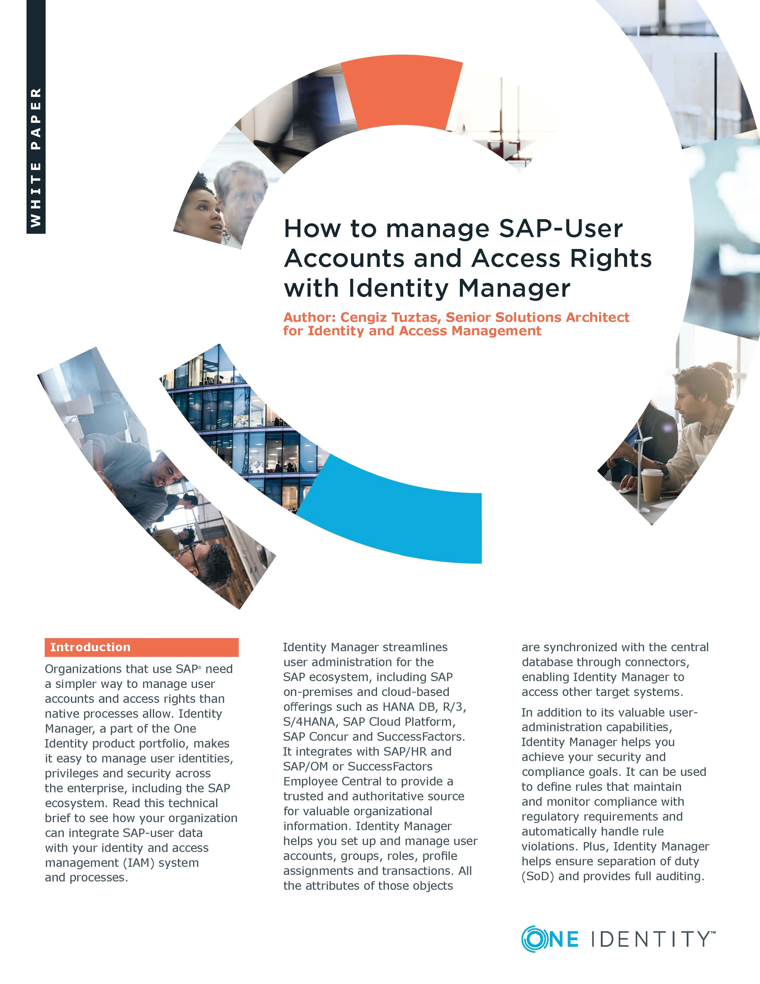 How to manage SAP-User Accounts and Access Rights with Identity