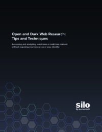 Open and Dark Web Research: Tips and Techniques