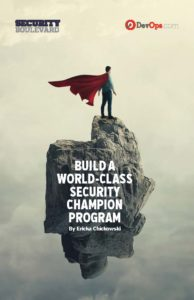Build a World-Class Security Champion Program