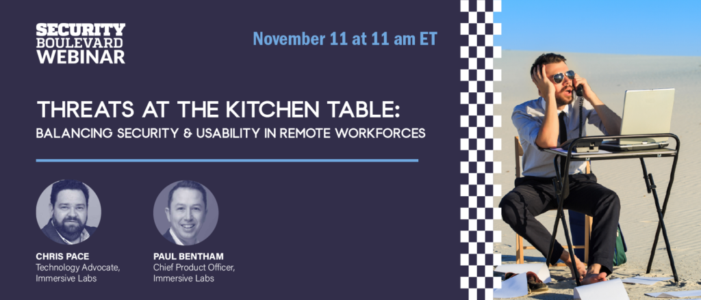 Threats at the Kitchen Table: Balancing Security and Usability in Remote Workforces