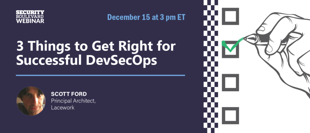 3 Things to Get Right for Successful DevSecOps