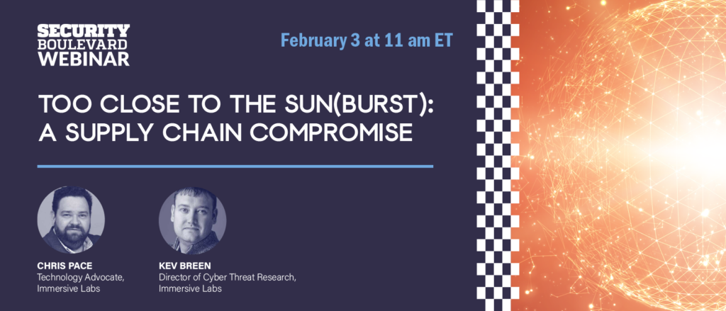 Too Close to the Sun(burst): A Supply Chain Compromise