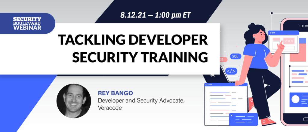 Tackling Developer Security Training
